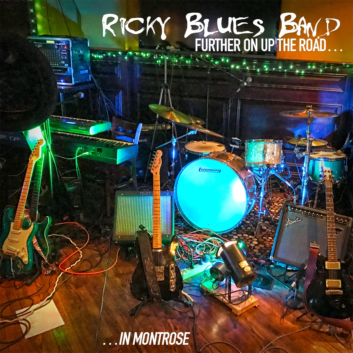 Ricky Blues Band: Further On Up The Road… In Montrose 6/17/2017